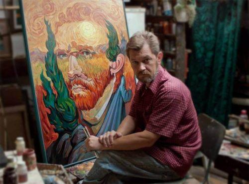 Картини художника з Тернопільщини покажуть в Парижі